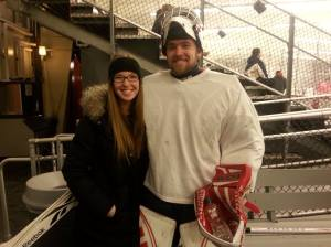h and a together at rink