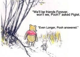 poo and piglet friends forever