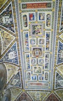 duomo of sienna cieling
