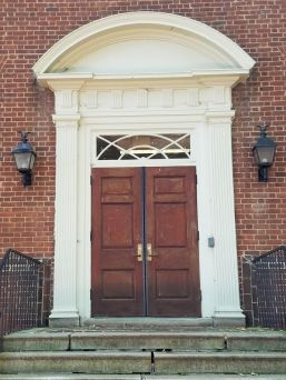Courthouse side door