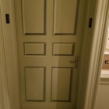 Our elevator door.