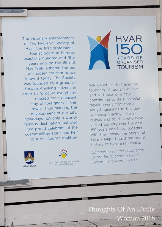 hvar tourism plague
