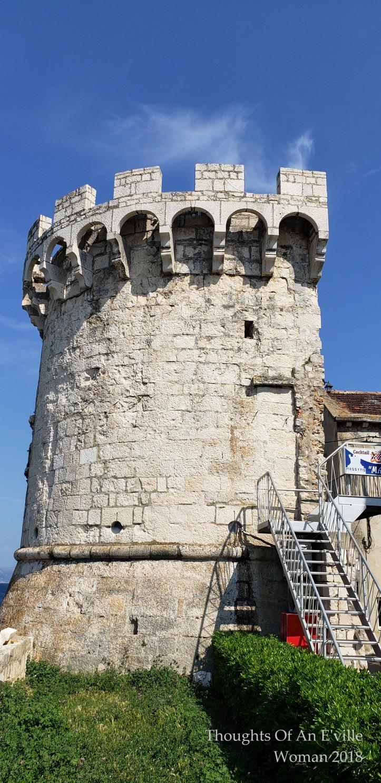 korcula fortress door