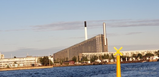 Amager Bakke Power Plant w/ ski area