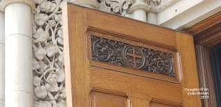Top of the door close-up